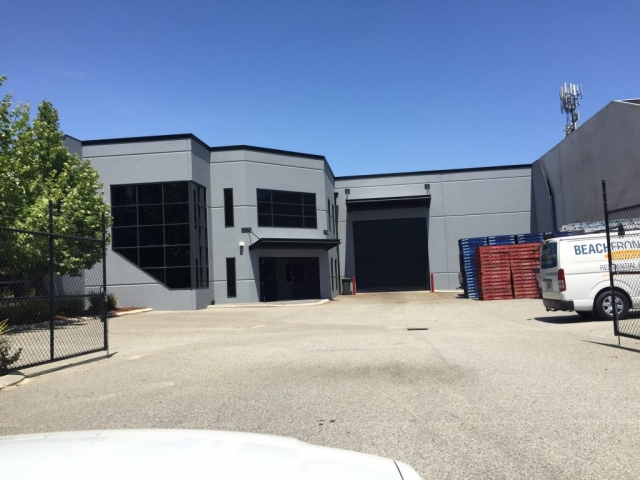 After image of Interior office & Exterior warehouse texture paint in Wangara